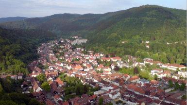 Bad Lauterberg Blick vom Hausberg