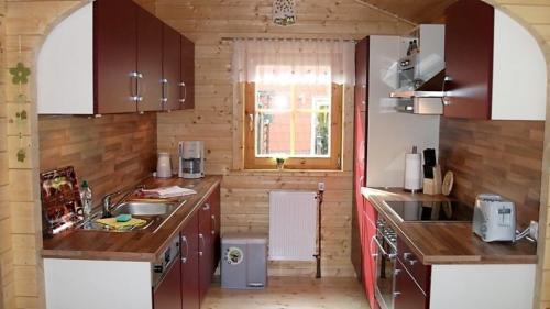 Blockhaus Winkeltal Küche