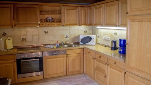 Ferienwohnung Speicher Küche1