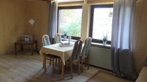 Ferienwohnung Speicher Wohnzimmer 1