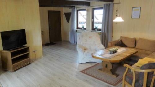 Ferienwohnung Speicher Wohnzimmer 2