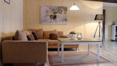 Ferienwohnung Speicher Wohnzimmer 4