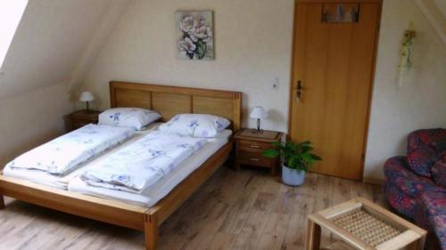Ferienwohnung Speicher Wohn- Schlafberreich (1)