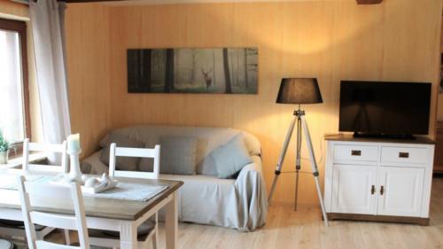 Ferienwohnung Speicher Wohnzimmer 3