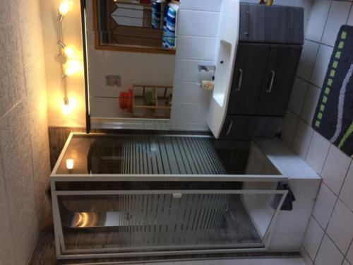 Ferienwohnung Kreuzbusch Badezimmer