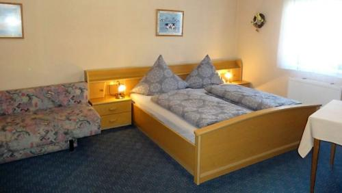 Zimmer 3 Bett